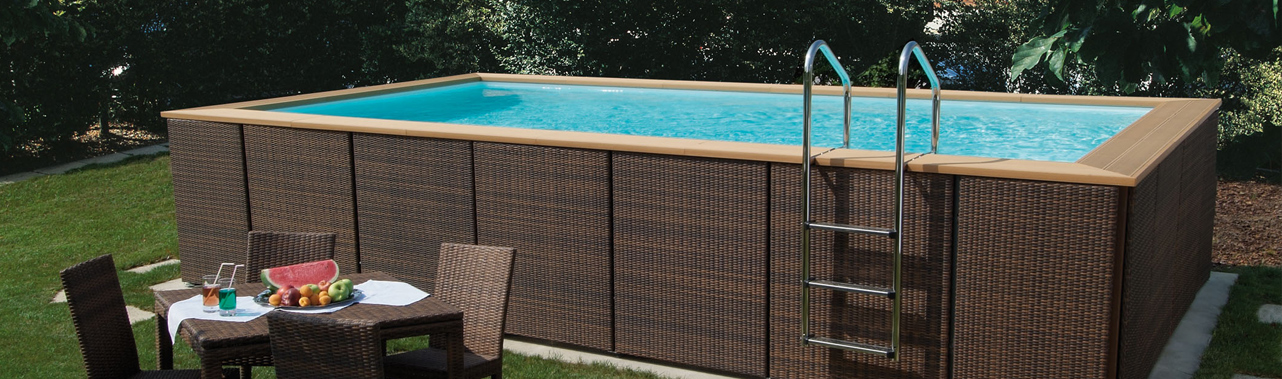 Piscines hors sol piscine laghetto piscine en bois - Piscine hors sol cora ...