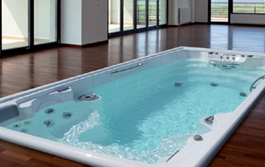 piscine contre courant spa de nage jacuzzi contre courant piscines fitness sa. Black Bedroom Furniture Sets. Home Design Ideas